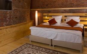 Улучшенный двухместный номер с 1 или 2 кроватями (Без окна)