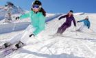 В «Сокольниках» открылась лыжная трасса